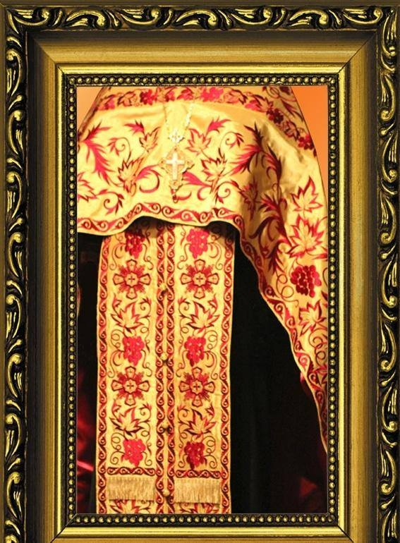 Embroidered priest's vestments 10196