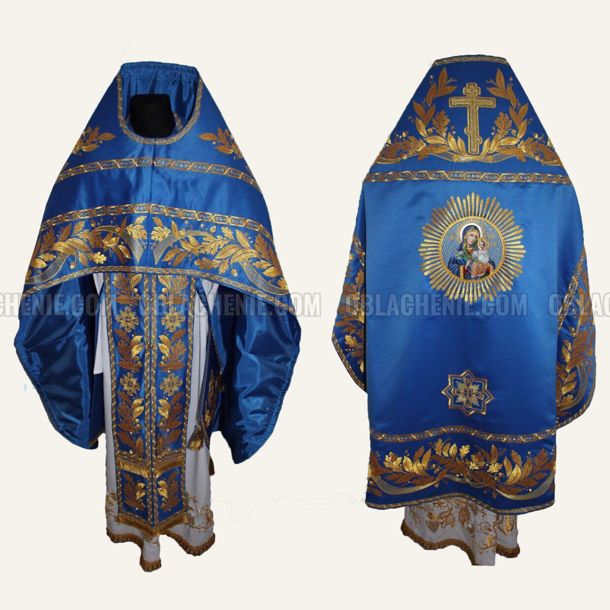 Embroidered priest's vestments 10204