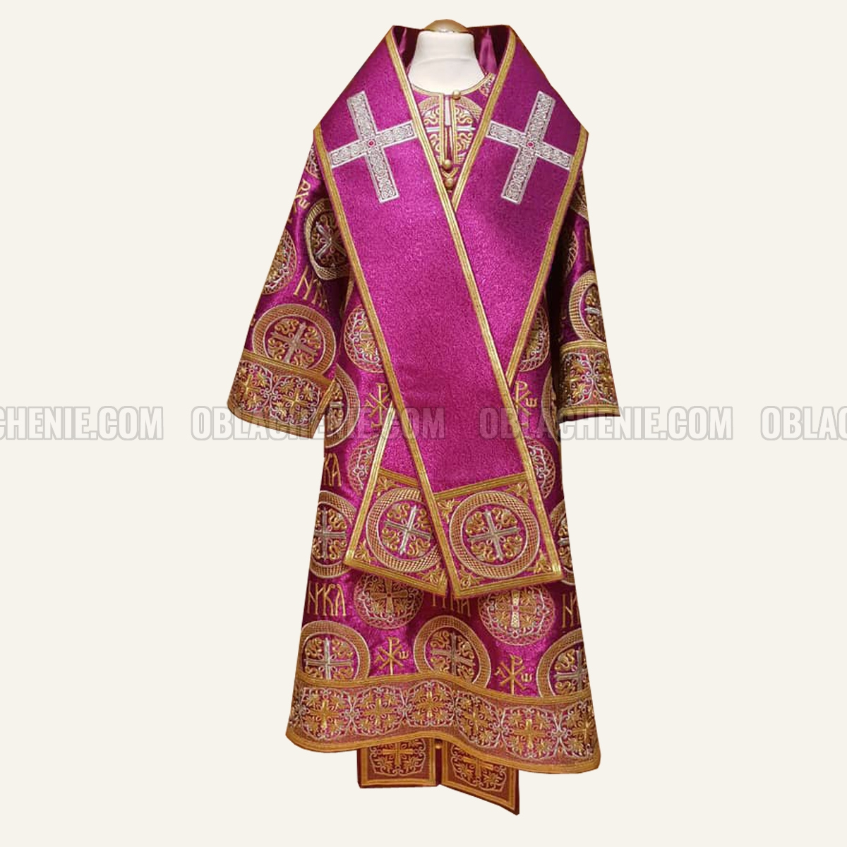 Bishop's embroidered vestments 10272