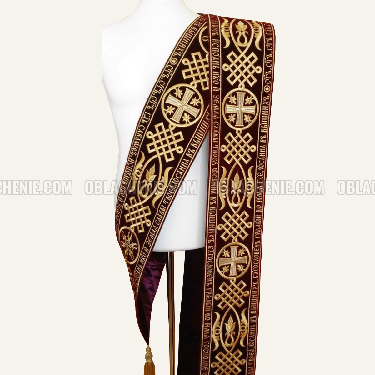 Embroidered orarion 10307