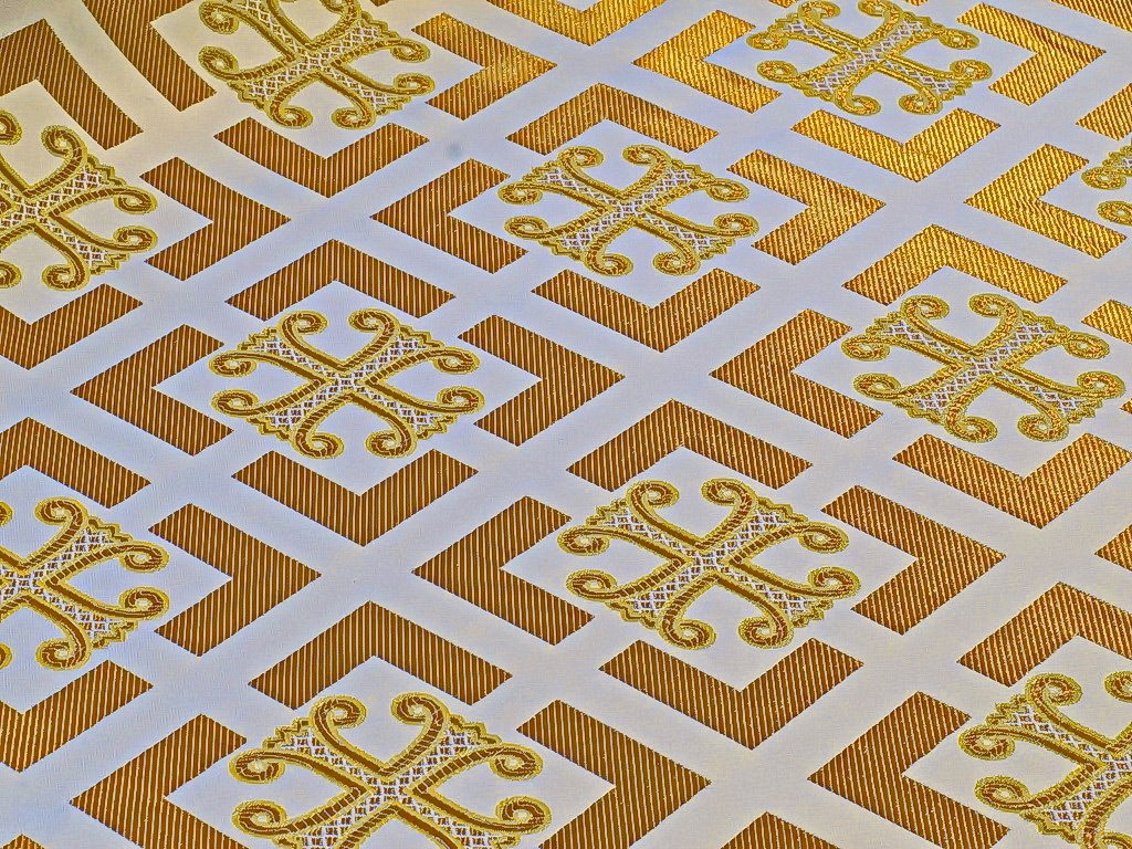 Church fabric 10742
