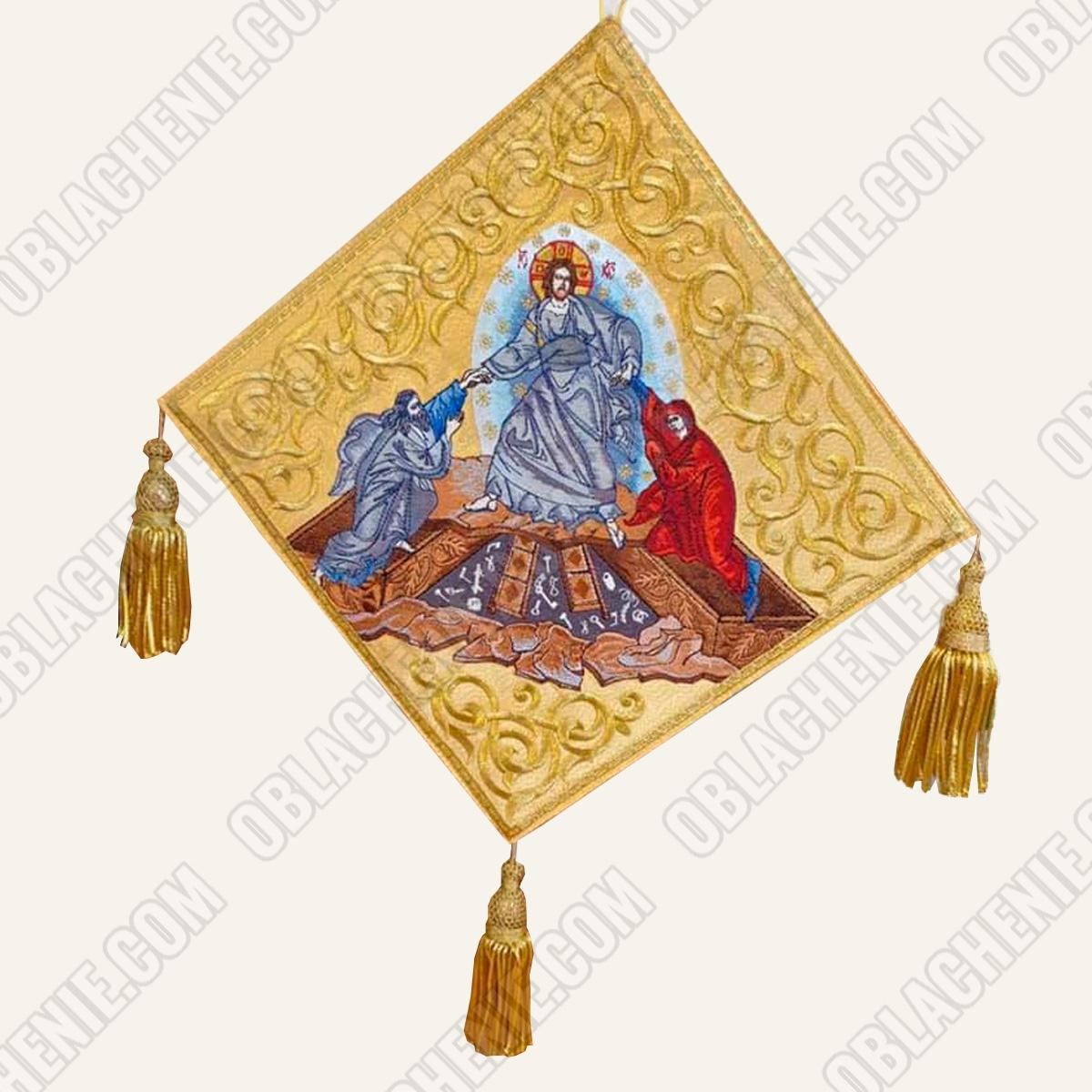 Epigonation embroidered 11120