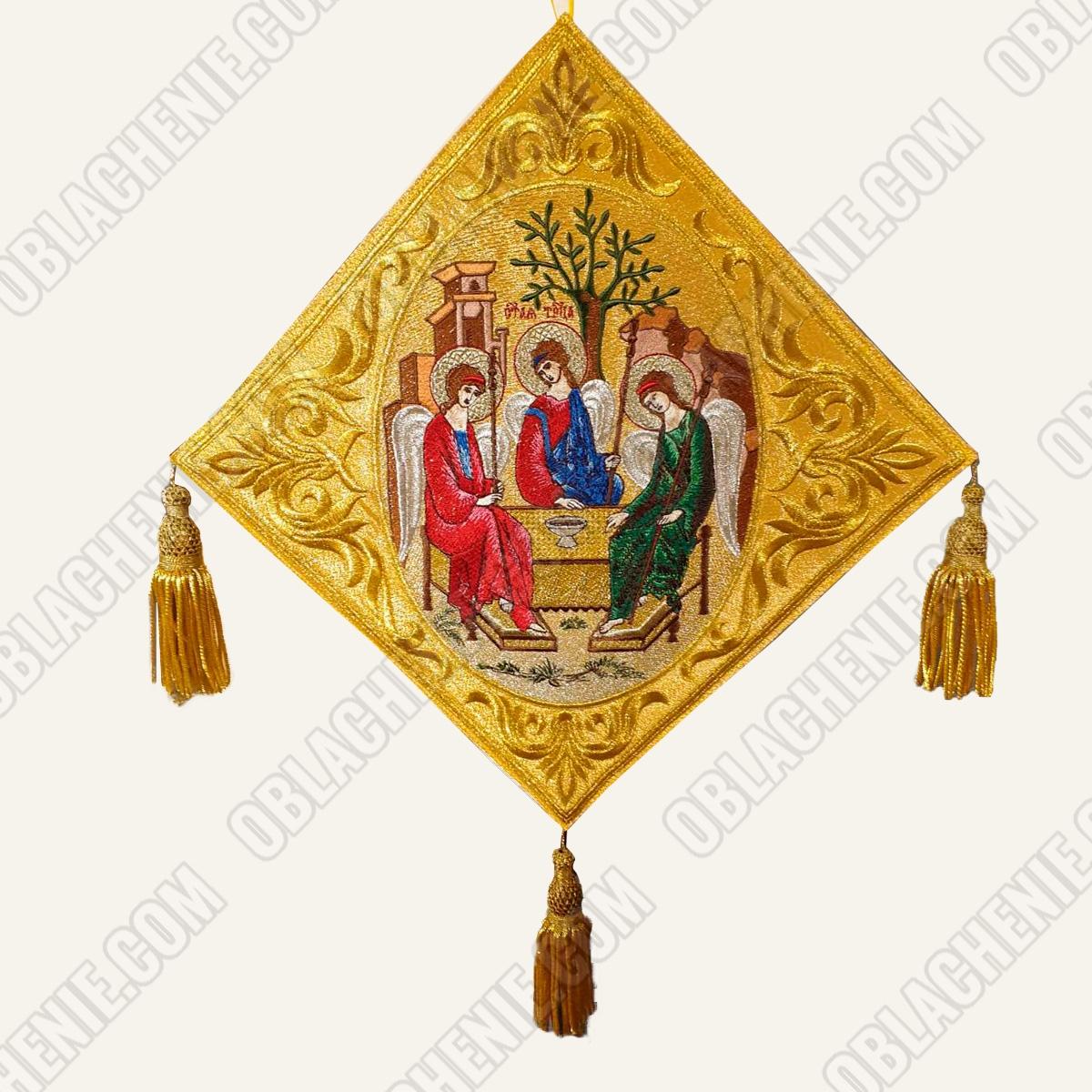 Epigonation embroidered 11121