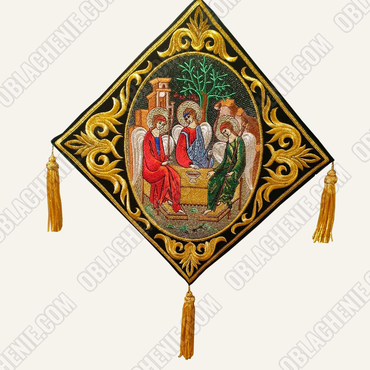 Epigonation embroidered 11125