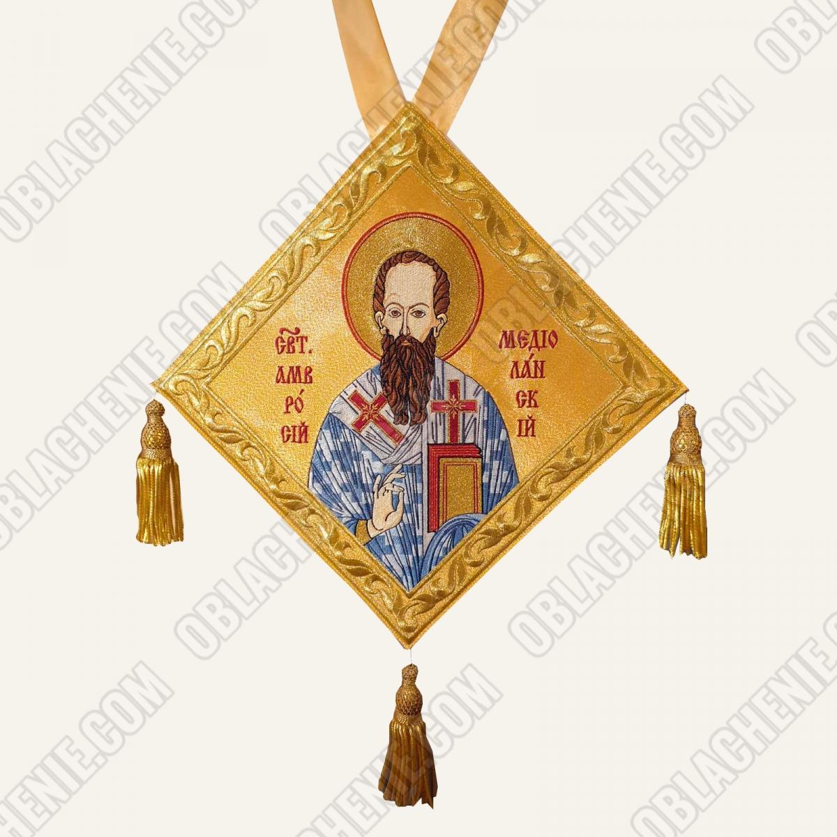 Epigonation embroidered 11234