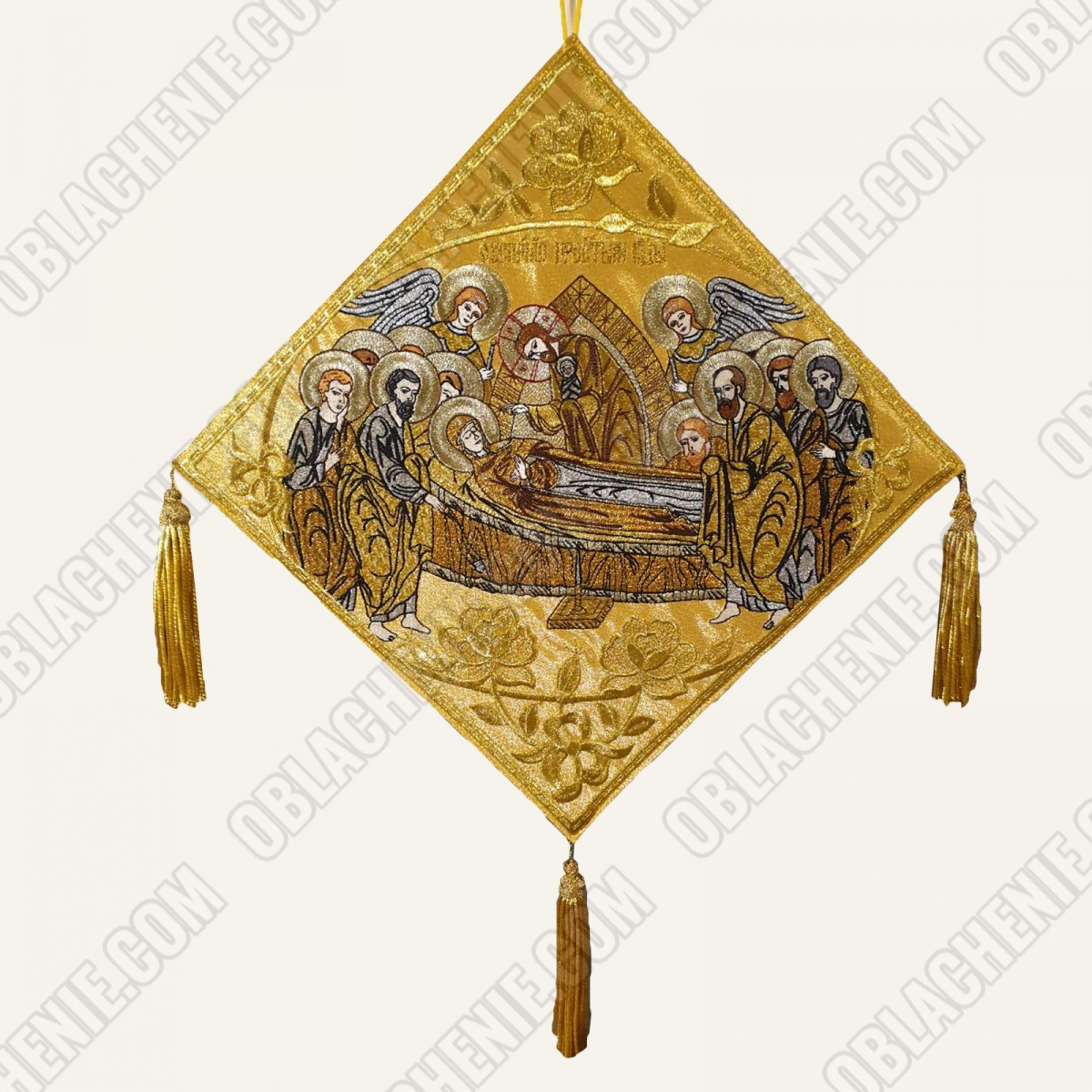 Epigonation embroidered 11387