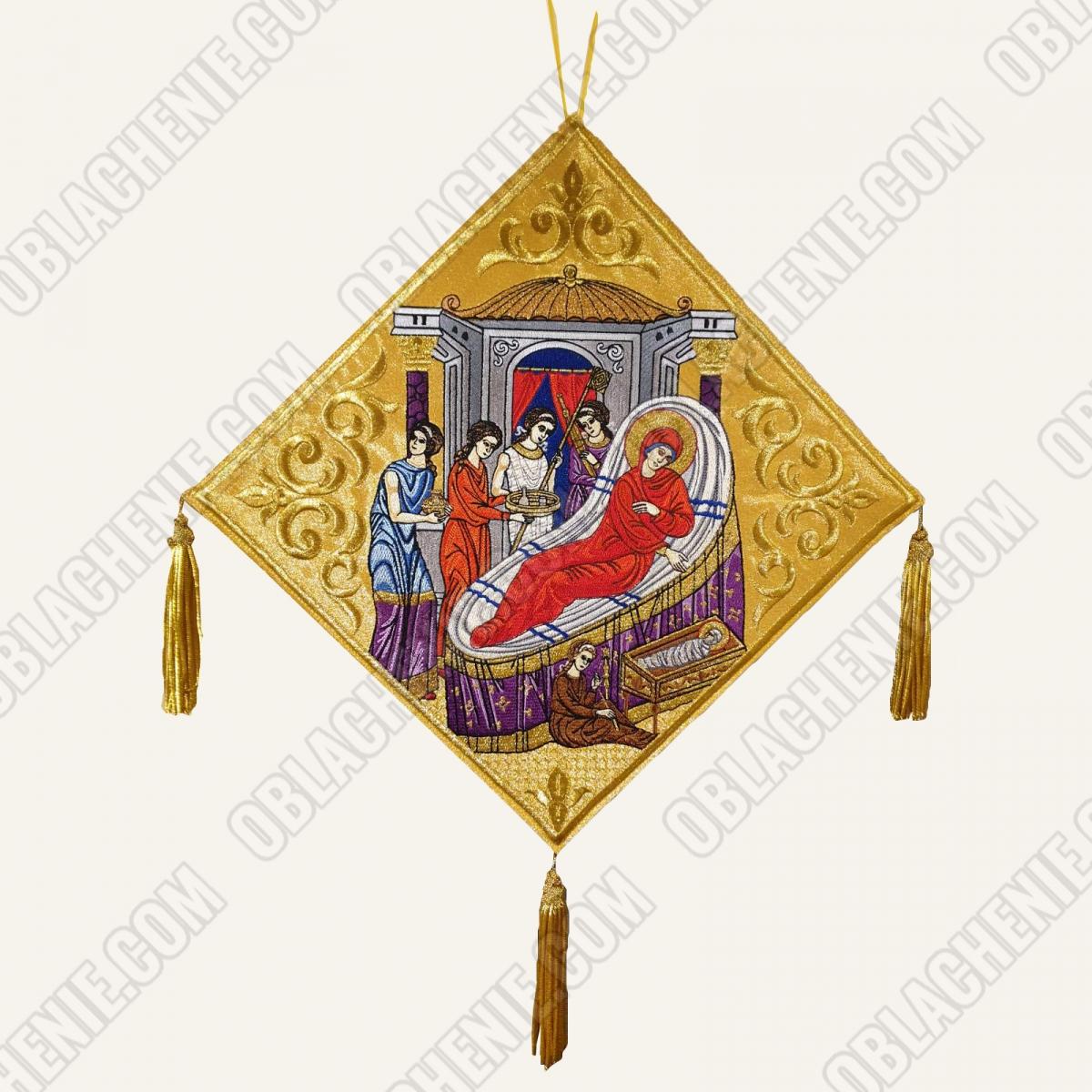 Epigonation embroidered 11390