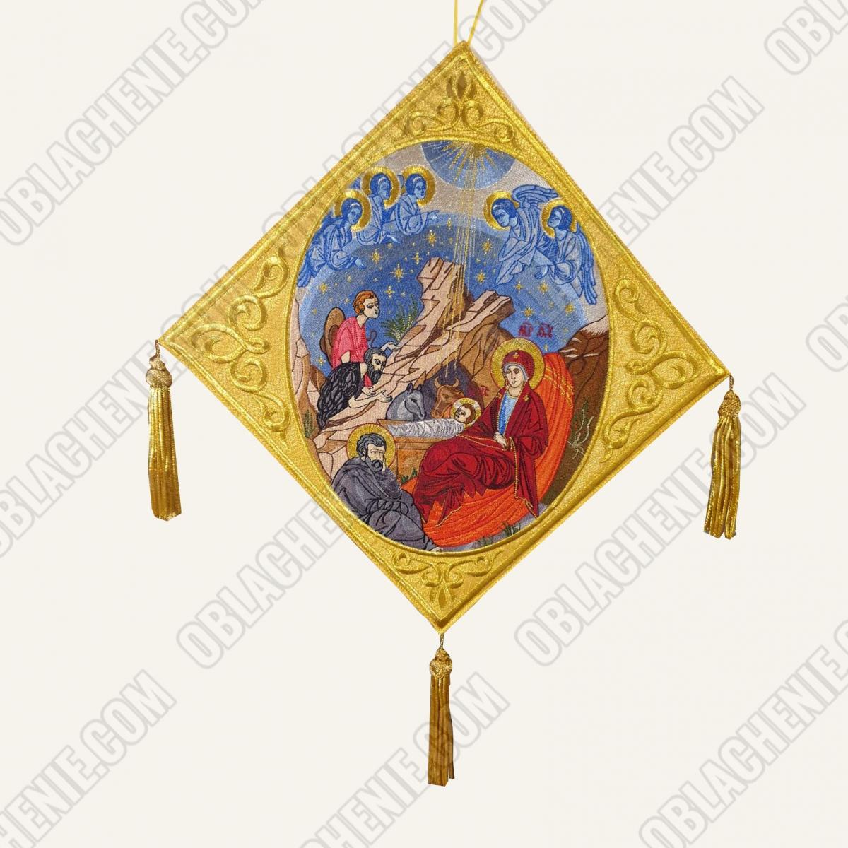 Epigonation embroidered 11392