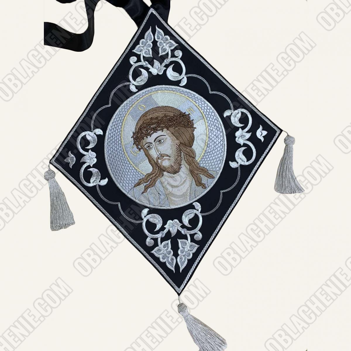 Epigonation embroidered 11395