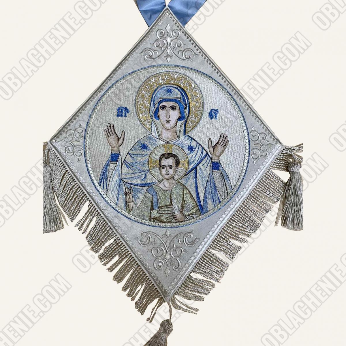 Epigonation embroidered 11650