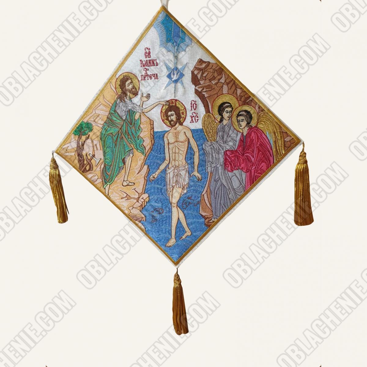Epigonation embroidered 11652