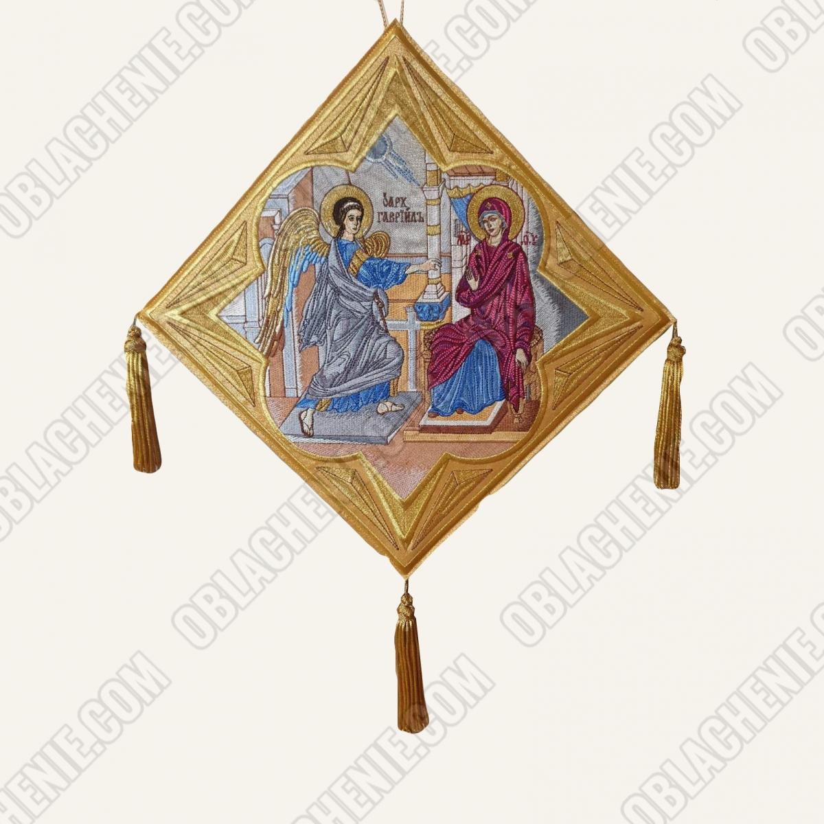 Epigonation embroidered 11653