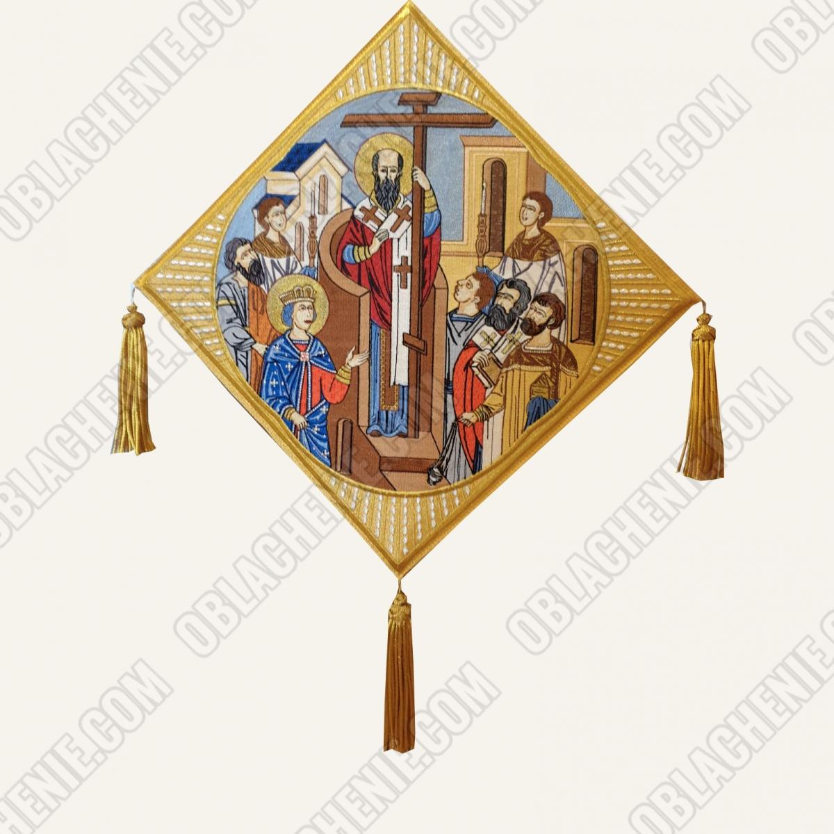 Epigonation embroidered 11656