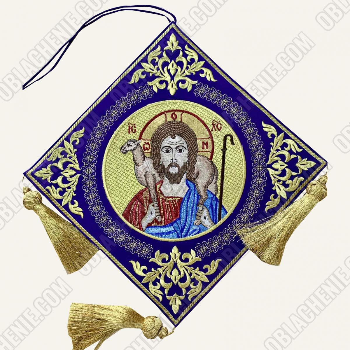 Epigonation embroidered 11657