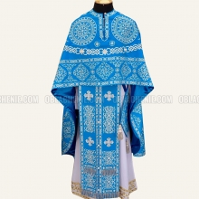 Embroidered priest's vestments 10164