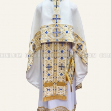 Embroidered priest's vestments 10191