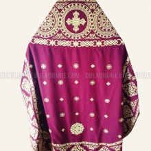 Embroidered priest's vestments 10200