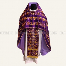 Embroidered priest's vestments 10213