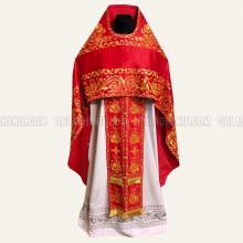 Embroidered priest's vestments 10215