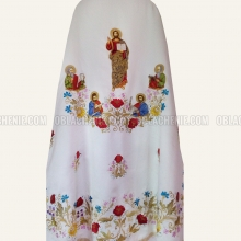Embroidered priest's vestments 10237 2
