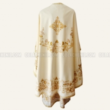 Embroidered priest's vestments 10240