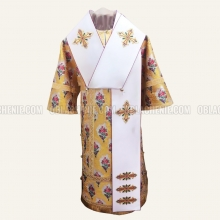 Bishop's orthodox vestments made of liturgical fabrics for sale.