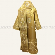 Embroidered Bishop's vestment 10304