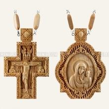 Крест и панагия из дерева 10467 1