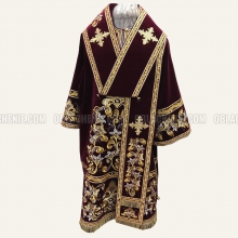 Embroidered Bishop's vestment 10641