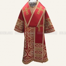 Embroidered Bishop's vestment 10642