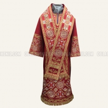 Embroidered Bishop's vestment 10643