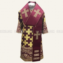 Embroidered Bishop's vestment 10644