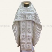 Embroidered priest's vestments 10649