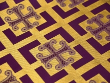 Church fabric 10743