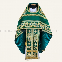 EMBROIDERED PRIEST'S VESTMENTS 10774