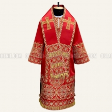 EMBROIDERED BISHOP'S VESTMENT 10892 1