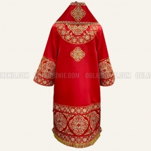 EMBROIDERED BISHOP'S VESTMENT 10892 2