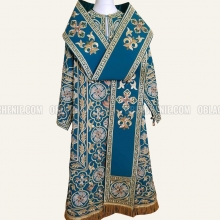 EMBROIDERED BISHOP'S VESTMENT 10893 2