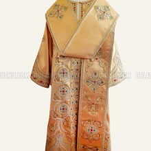 EMBROIDERED BISHOP'S VESTMENT 10894 2