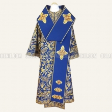 EMBROIDERED BISHOP'S VESTMENT 10896 1