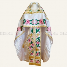 EMBROIDERED PRIEST'S VESTMENTS 11019