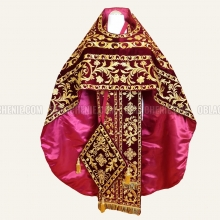 EMBROIDERED PRIEST'S VESTMENTS 11020 2