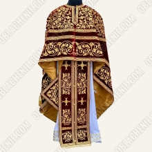 EMBROIDERED PRIEST'S VESTMENTS 11077