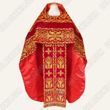 EMBROIDERED PRIEST'S VESTMENTS 11081