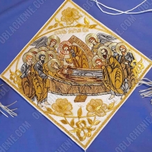 Epigonation embroidered 11118