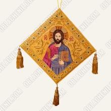 Epigonation embroidered 11122 2