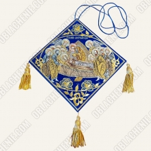 Epigonation embroidered 11123
