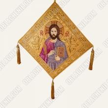 Epigonation embroidered 11386