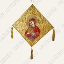 Epigonation embroidered 11389
