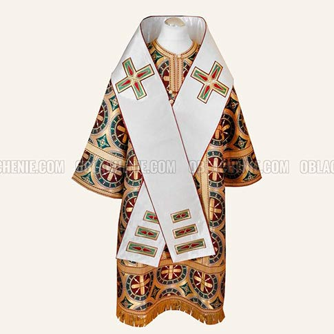 Orthodox church vestments and fabrics - Oblachenie